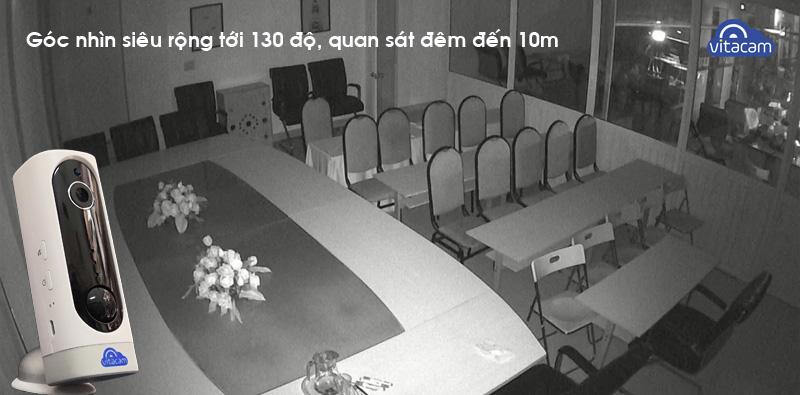 CAMERA IP THÔNG MINH CAO CẤP TÍCH HỢP PIN SẠC - FULLHD CHÍNH HÃNG VITACAM BA1080 - BẢO HÀNH 18 THÁNG 1 ĐỔI 1