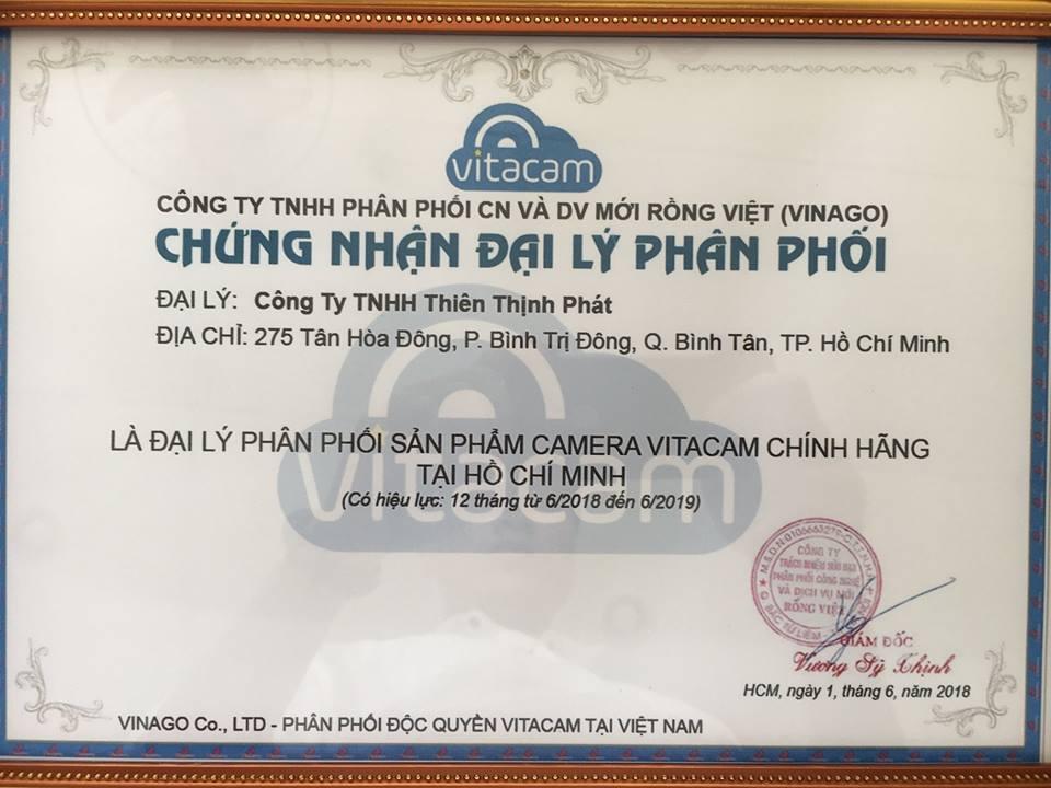 CAMERA IP WIFI VITACAM DZ1080 CHÍNH HÃNG - CAMERA SPEED DOME PTZ NGOÀI TRỜI CAO CẤP