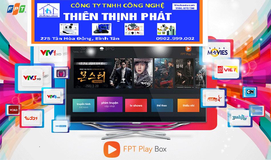 Hướng dẫn kích hoạt khuyến mại gói Giải trí FPT Play Box 2018