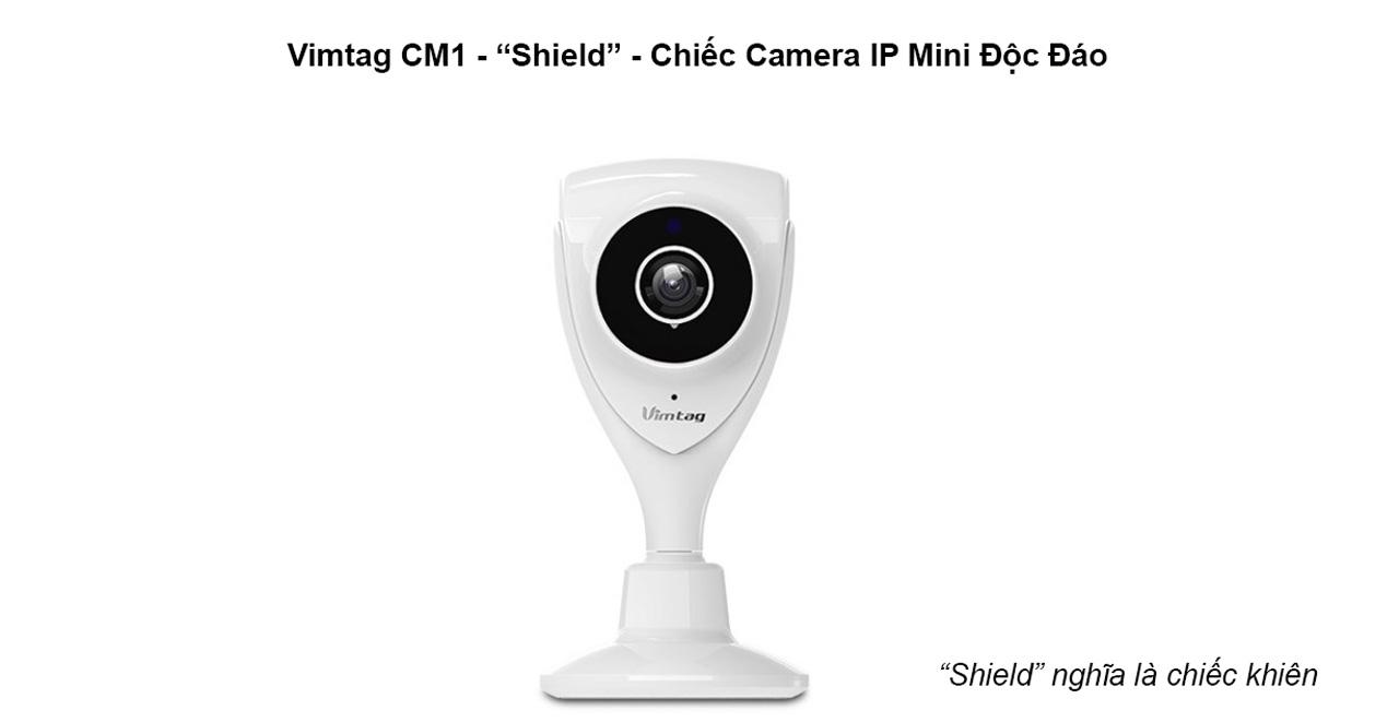 VIMTAG CM1 - CAMERA IP MINI HD 720P, ĐÀM THOẠI 2 CHIỀU