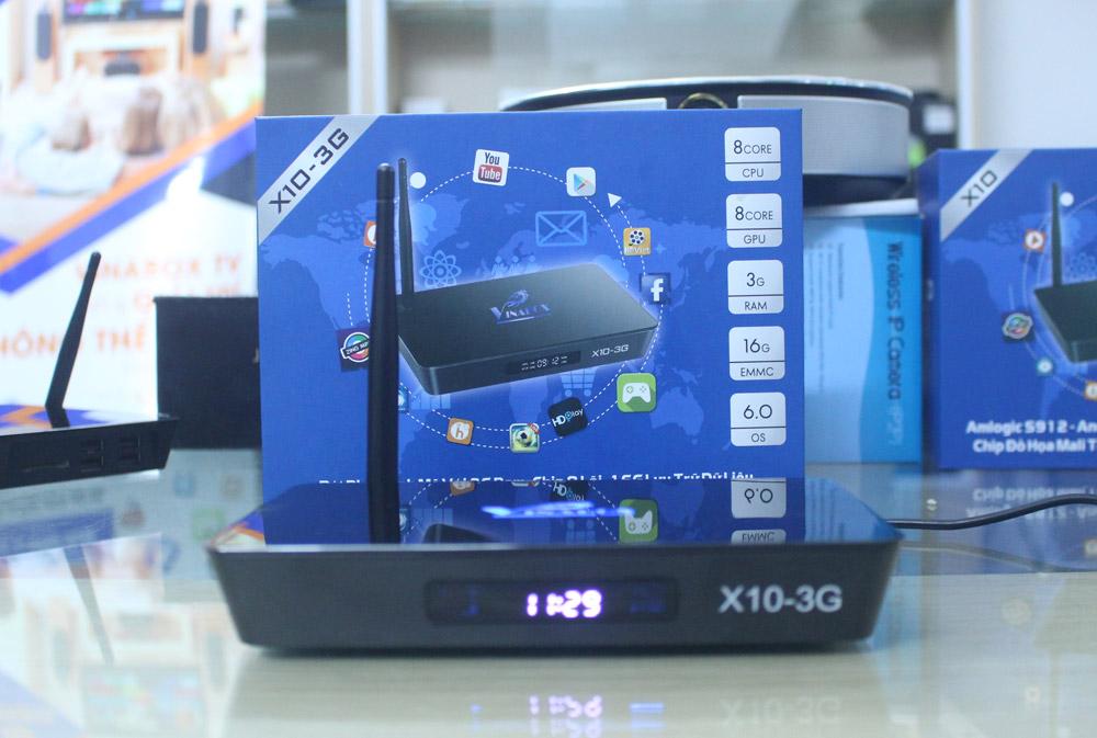 VINABOX X10 – 3G RAM – 16G ROM – BỨT PHÁ MỌI GIỚI HẠN